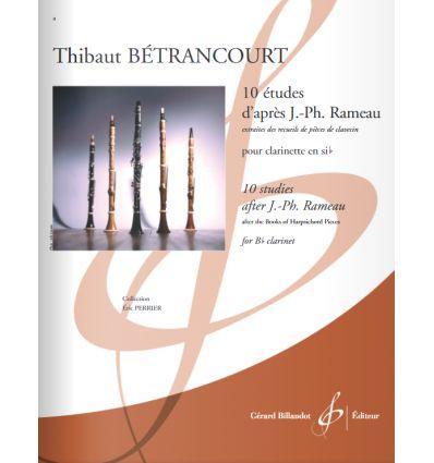 10 Etudes d'après J.-Ph.Rameau