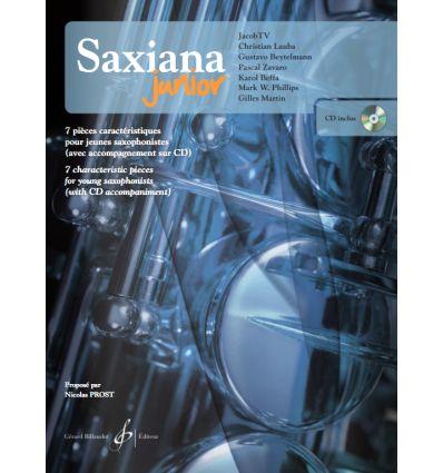 Saxiana Junior avec audio
