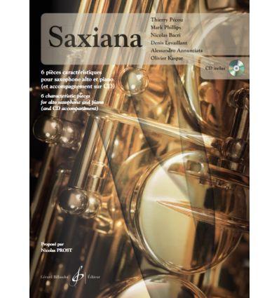 Saxiana, avec CD