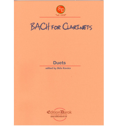 Bach For clarinets