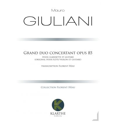 Grand Duo Concertant opus 85