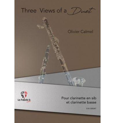 3 views of a duet
