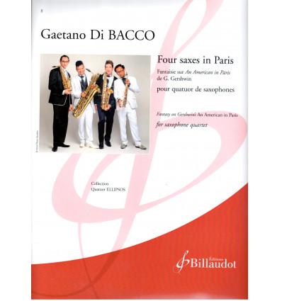 Four saxes in Paris