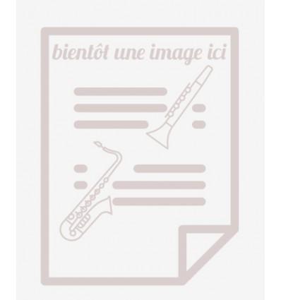 Prélude, Fugue et Variation, arr. quatuor de clari...