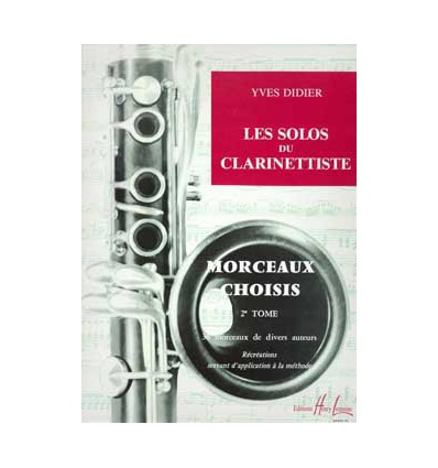 Les solos du clarinettiste Vol.2