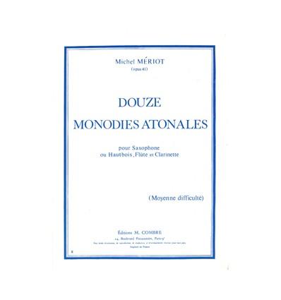Monodies atonales (12)