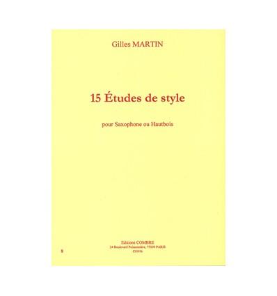 Etudes de style (15)