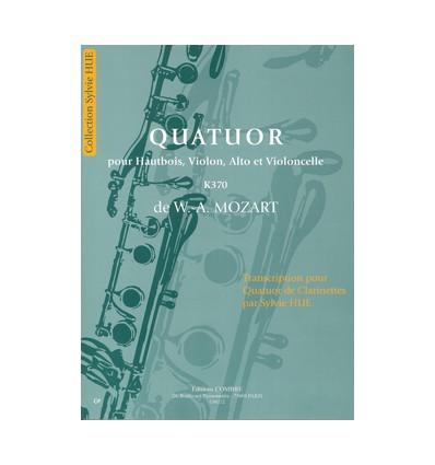 Quatuor pour hautbois, violon, alto et cello KV370