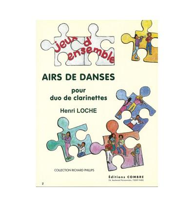 Airs de danses (10 duos)