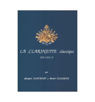 La Clarinette classique Vol.D