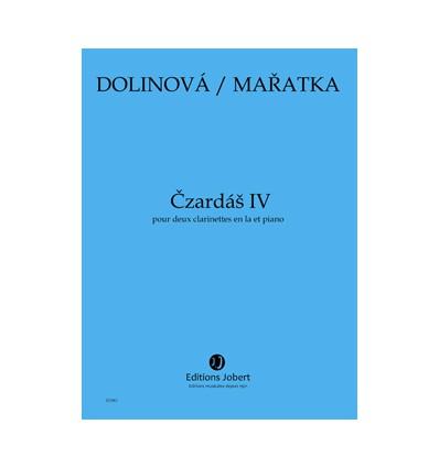 Czardas IV, version 2 clarinettes et piano. Durée 5 mn XC